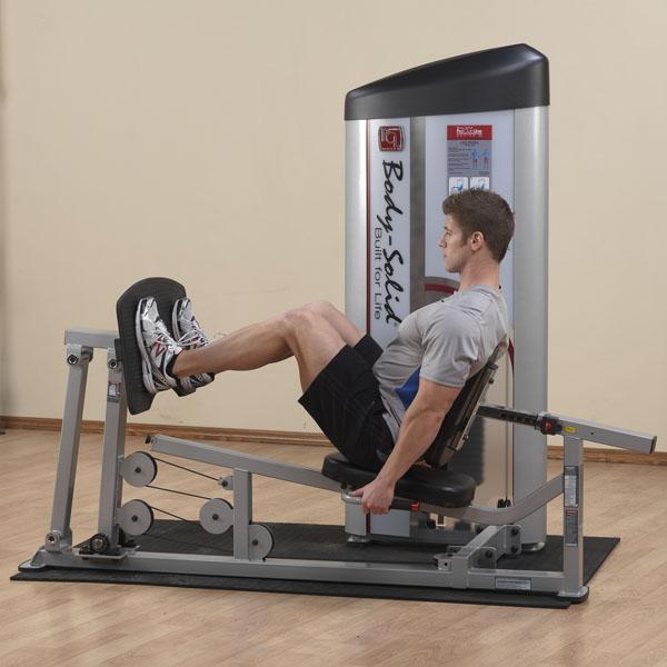 Body Solid Pro Clubline S2 Leg Press And Calf Raise Machine
