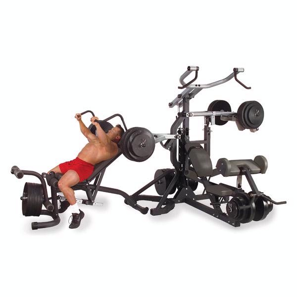 Body-Solid PowerLIFT Freeweight Leverage Gym Package