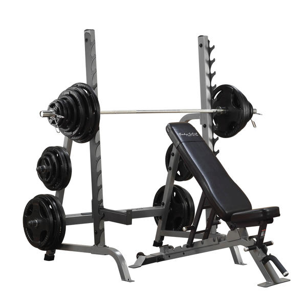Bench/ Rack/Weight Set Combination Package