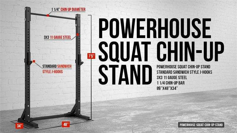 Squat Chin Up Stand