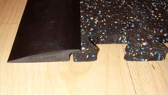 RB Rubber Flooring Transition Strip