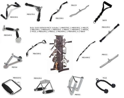 Body Solid Tools Accessory Package