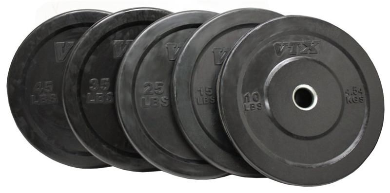Troy Barbell VTX Solid Rubber Bumper Plate