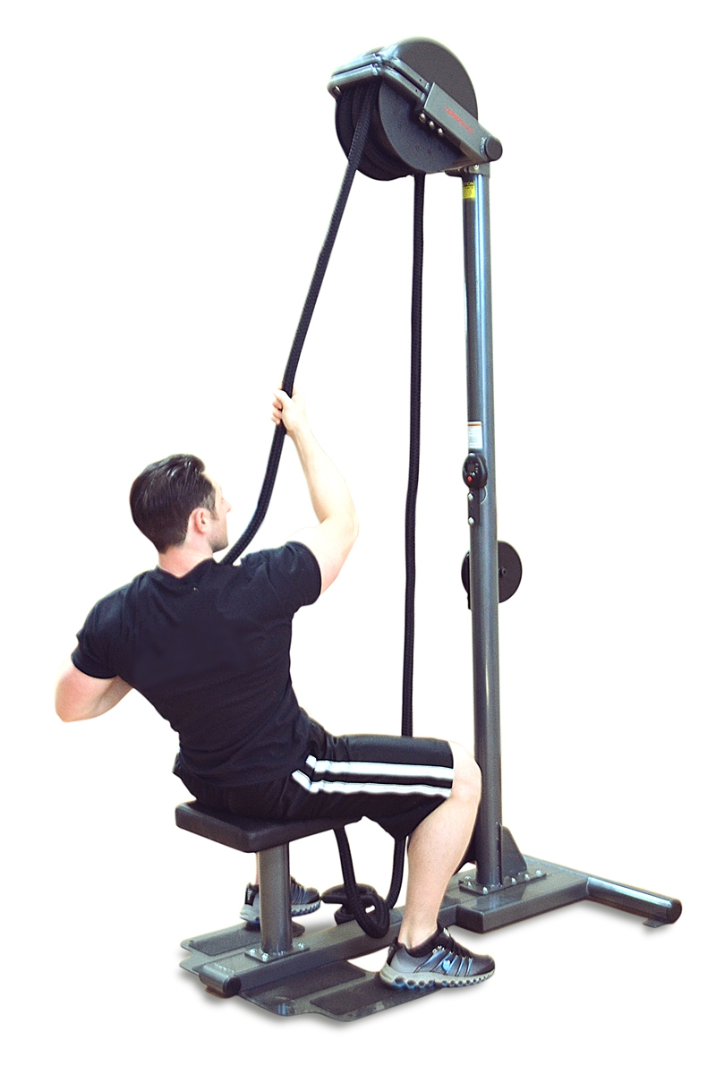 Ropeflex Oryx Rx2500h Vertical Rope Pulling Machine With