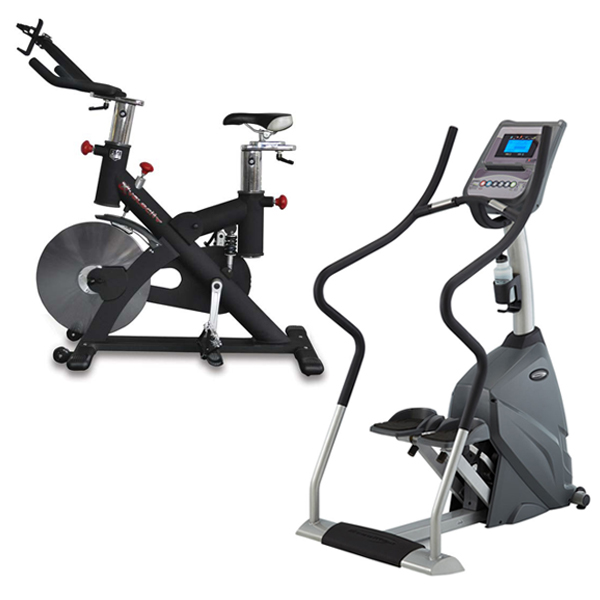 Cardio Package - Stepper and Exercise Bike