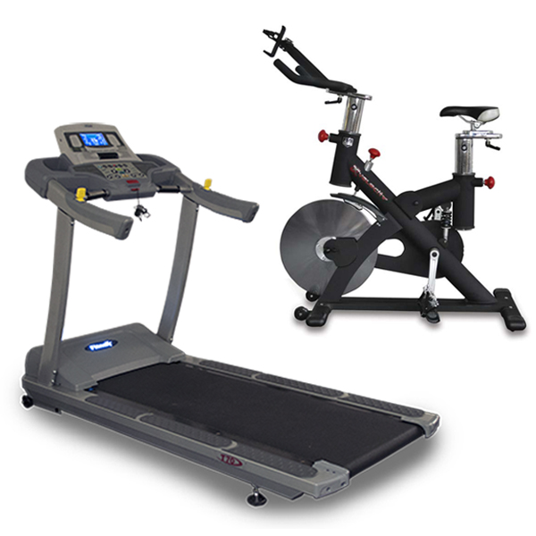 Cardio Package - Treadmill and Exercise Bike