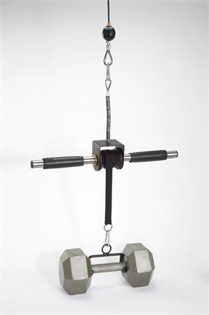 GRIP FREAK /'Slip Grips/' Grip Strengthener with Dumbbell Loading Hook