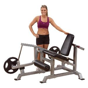 Body-Solid Leverage Leg Extension Weight Bench