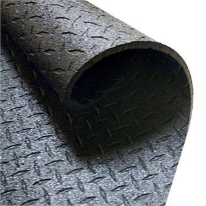 "Body-Solid Protective Rubber Flooring (4' x 6' x 1/2"")"